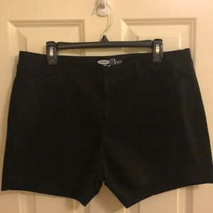 Black Old Navy Pixie shorts